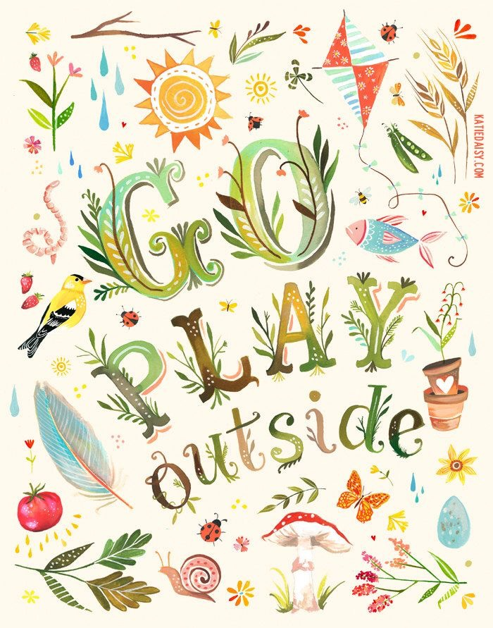 Play Outside Print